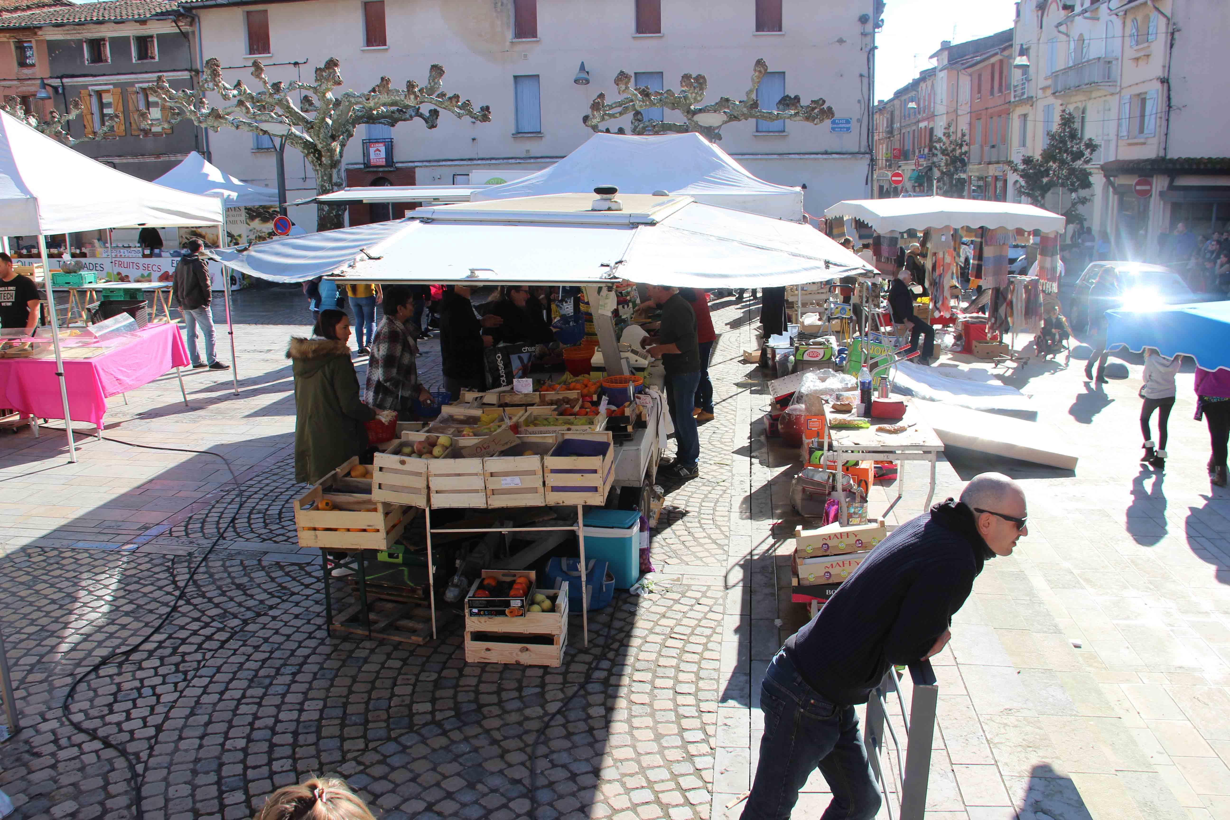 Réouverture du marché et reprise de la navette : les règles sanitaires à respecter