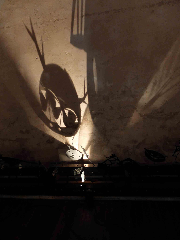 EXPOSITION : ombres projetées et lumières animées à la Tour de Défense