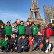 Sur les traces de l'Equipe de France: voyage de rêve à Paris pour les enfants de l'AS Villemur Foot.