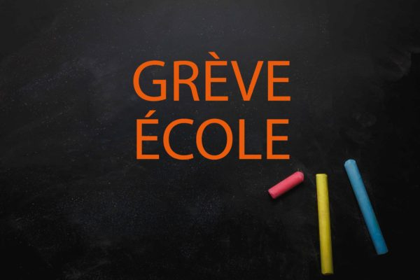 Grève Education Nationale jeudi 3 octobre : pas de service minimum
