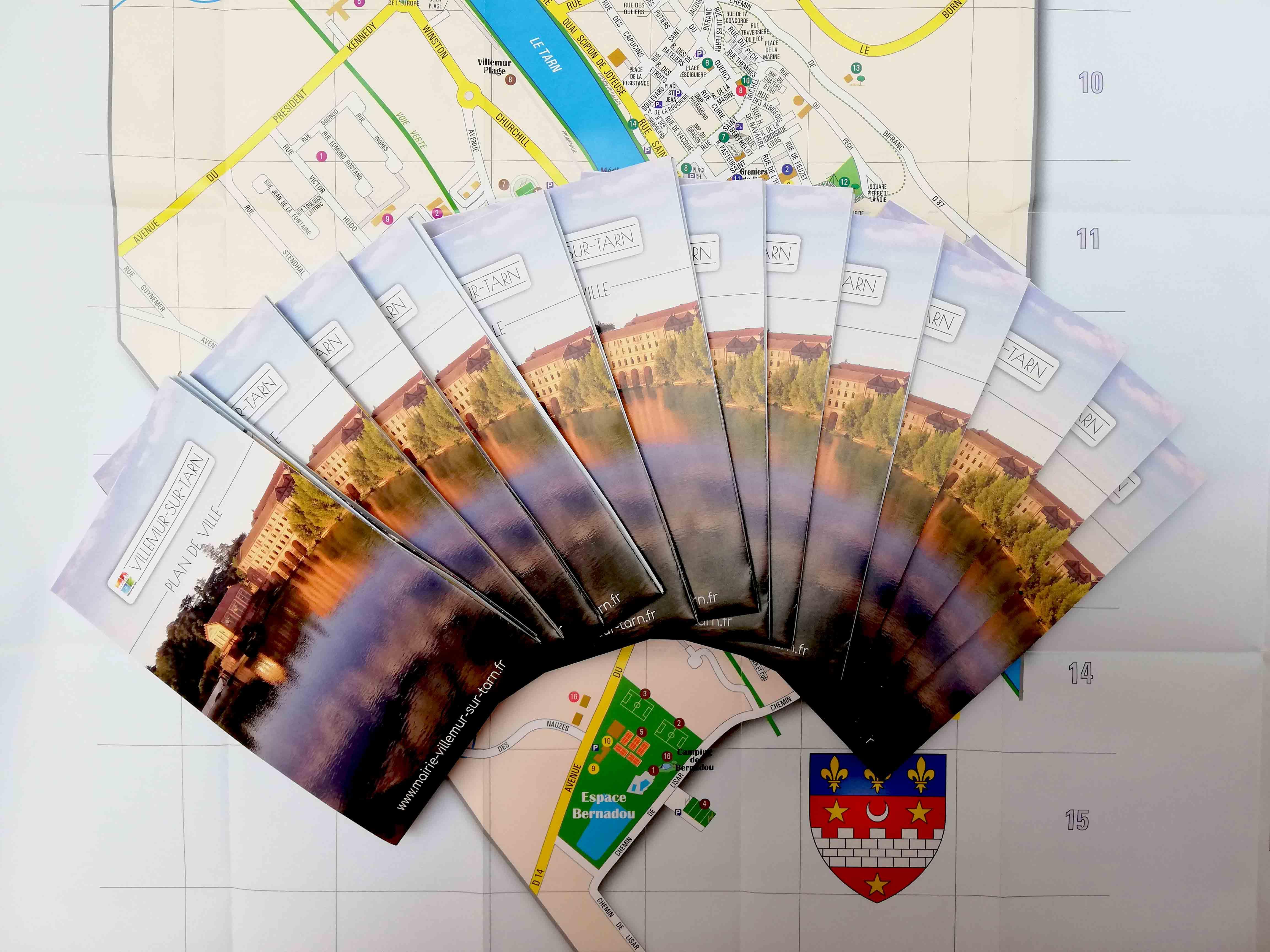 De nouveaux plans de ville à votre disposition