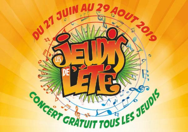 Jeudis de l'été : les apéros-concerts reviennent pour une nouvelle saison !