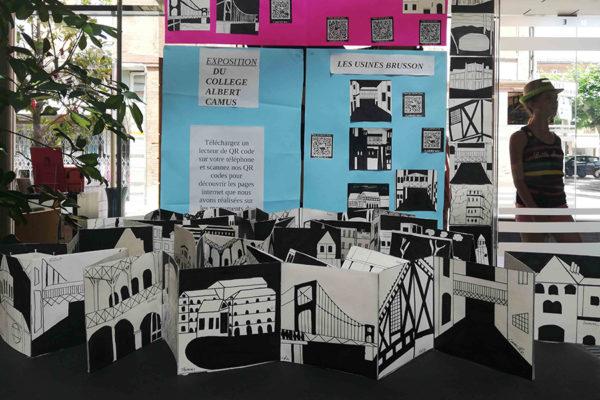 Les enfants de Villemur racontent le patrimoine : exposition prolongée jusqu'au 3 août !