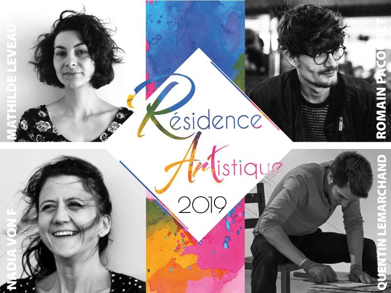 Résidence artistiques : 4 nouveaux plasticiens attendus pour la rentrée !