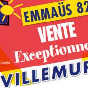 EMMAÜS : vente exceptionnelle ce week-end à la halle Brusson