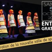 Greniers du Roy : inauguration de la nouvelle salle de spectacle samedi 5 octobre suivie d'une soirée théâtre gratuite