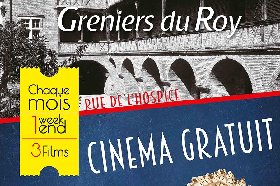 Cinéma gratuit aux Greniers du Roy : 3 séances gratuites les 7 et 8 décembre