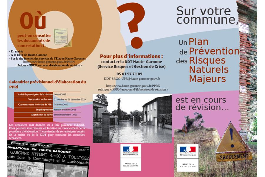 PPRI : donnez votre avis sur les cartes d'aléa inondation du 21 octobre au 21 décembre 2019