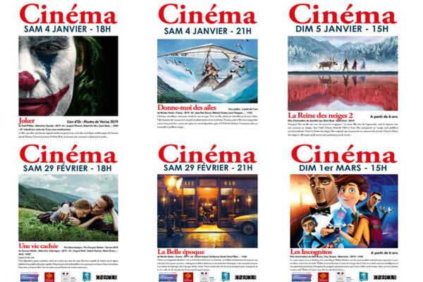Cinéma gratuit : les séances de janvier et février 2020