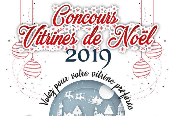 Concours de vitrines de Noël : tentez de gagner jusqu'à 100 euros de bons d'achats chez l'un des 28 commerçants participant !