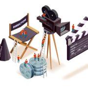 Tournage d'un film avec Laetitia Casta à Villemur du 2 au 5 mars 2020