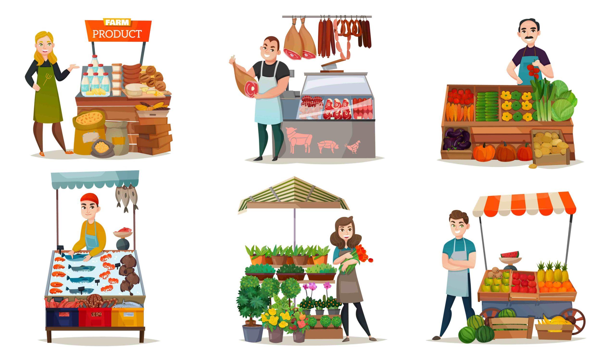 COVID-19 : la municipalité met en place un drive pour les commerçants du marché