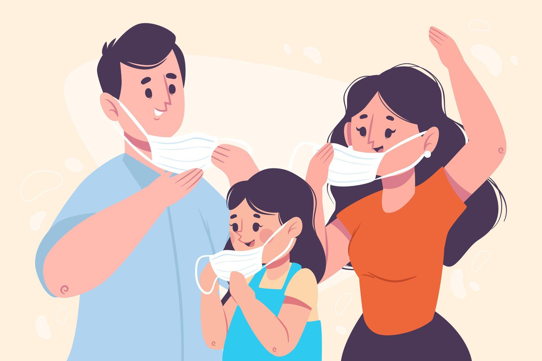 Masques gratuits pour adultes et enfants à récupérer en mairie