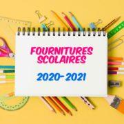 Rentrée 2020 : liste des fournitures scolaires