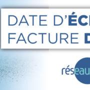! IMPORTANT !    FACTURATION EAU POTABLE- ÉCHÉANCE DÉCALÉE