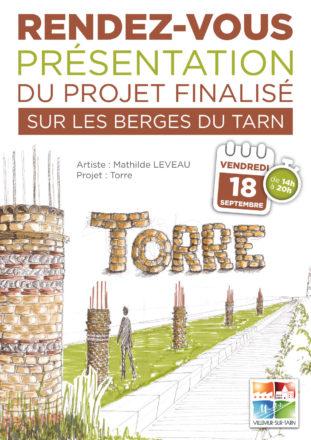 """RENDEZ-VOUS Présentation projet """"TORRE"""" de Mathilde Leveau"""