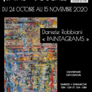 PAINTAGRAMS – Daniele ROBBIANI s'expose aux Bains-Douches,  du 24/10 au 15/11/2020.