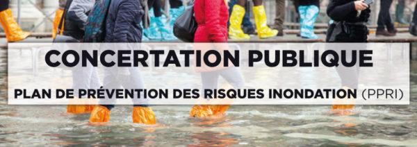 PPRI – Plan de Prévention des Risques Inondation : Concertation publique [Deuxième Phase]
