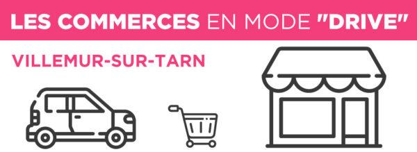 """Les Commerces de Villemur en mode """"DRIVE"""""""