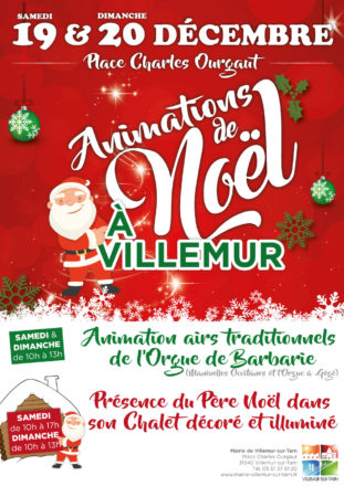Animations de Noël 2020 – Place Charles Ourgaut
