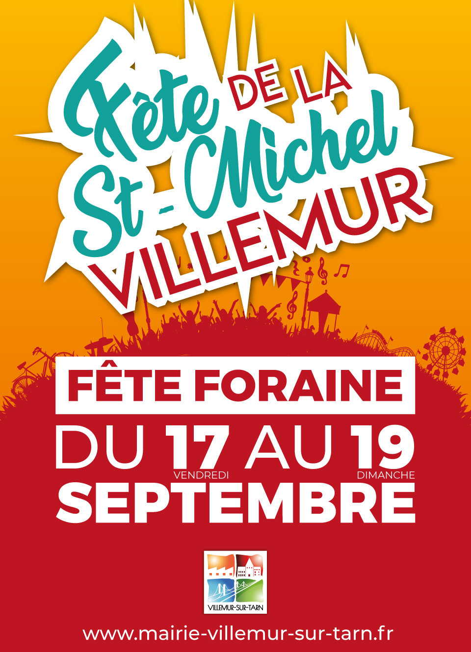 FÊTE FORAINE DE LA SAINT MICHEL   du 17 au 19 septembre