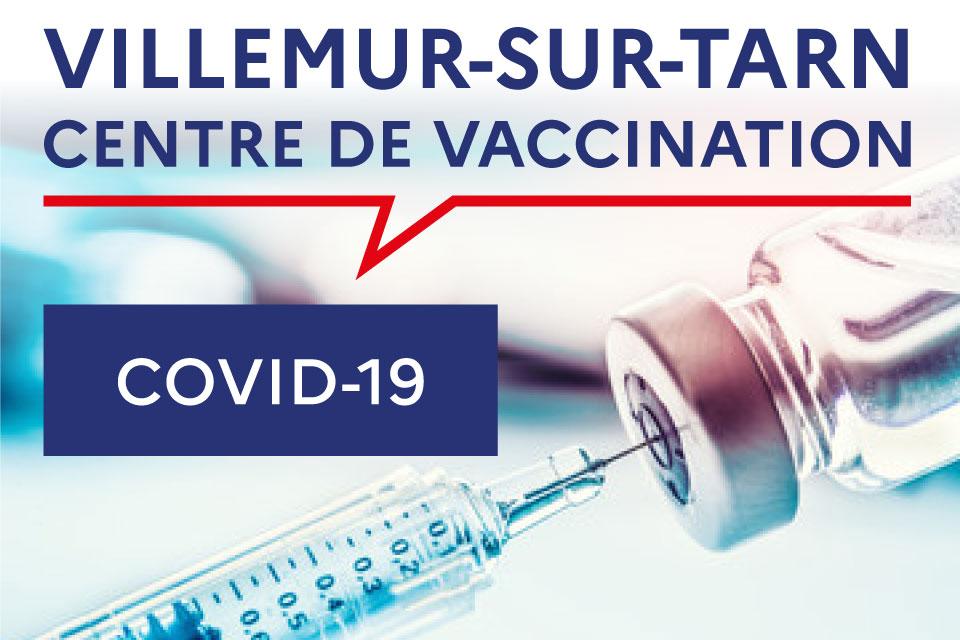 Ouverture du centre de vaccination COVID-19