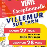 EMMAÜS : vente exceptionnelle les 27 et 28 mars à la halle Brusson