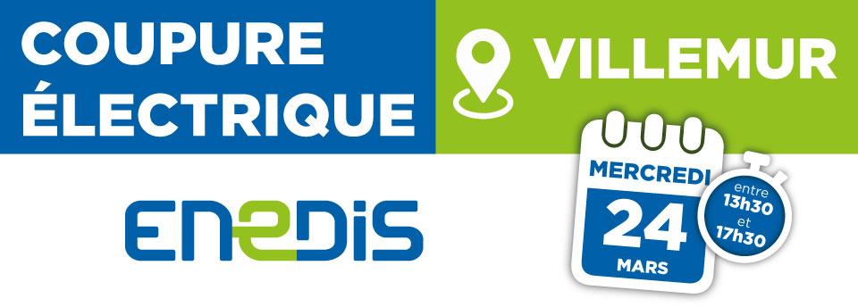 Coupure électrique 24/03/2021 – Villemur