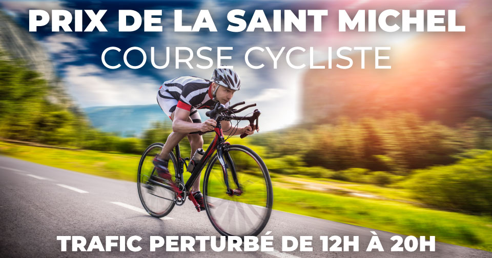 [ COURSE CYCLISTE VILLEMUR ] TRAFIC PERTURBÉ – DIMANCHE 19 SEPTEMBRE