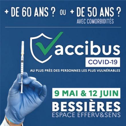 CAMPAGNE DE VACCINATION DÈS 60 ANS – VACCIBUS – 9 MAI à Bessières