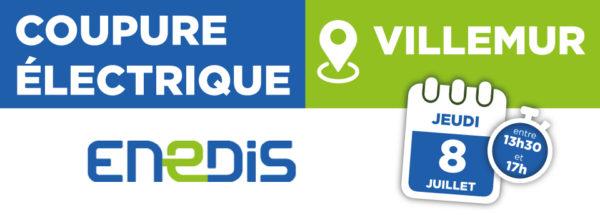 Coupure électrique 08/07/2021 – Villemur