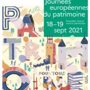 JOURNÉES EUROPÉENNES DU PATRIMOINE  PROGRAMME | 18 & 19 SEPT. 2021