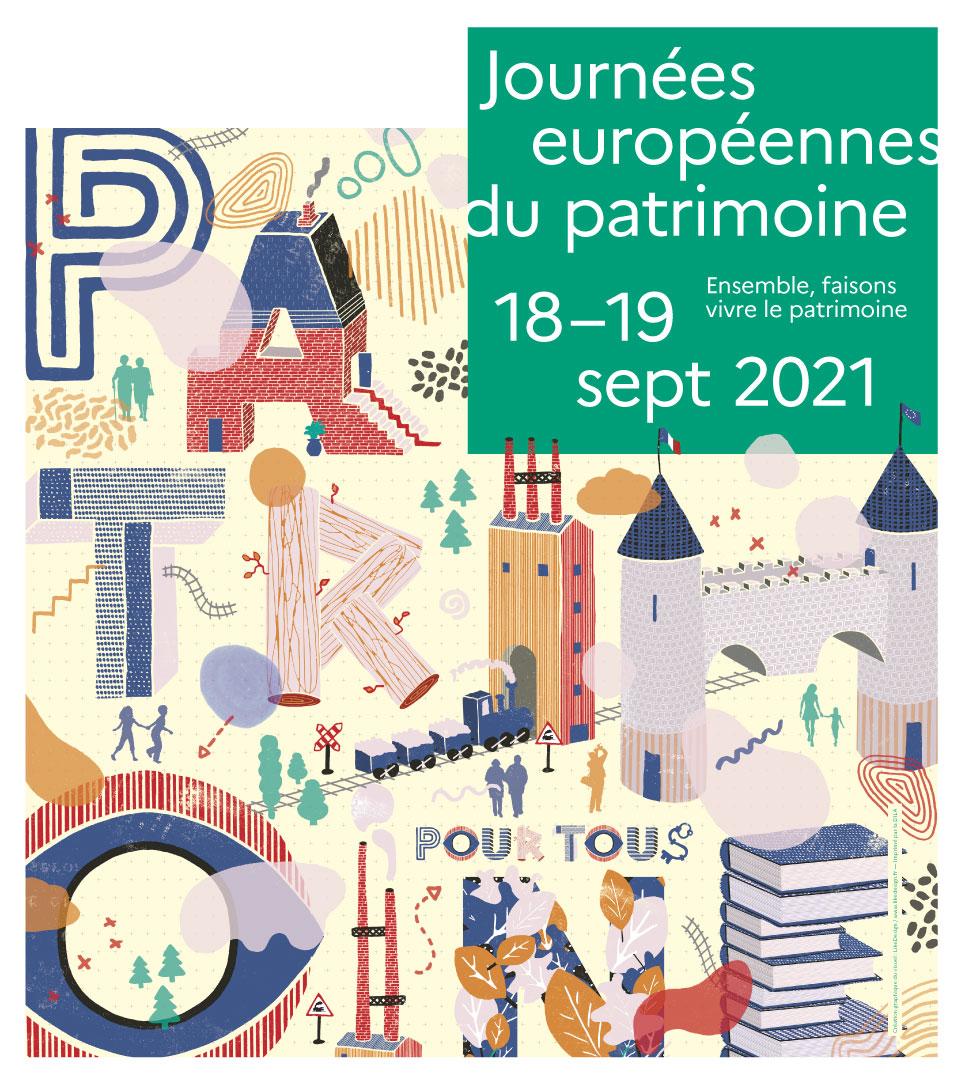 JOURNÉES EUROPÉENNES DU PATRIMOINE  PROGRAMME   18 & 19 SEPT. 2021
