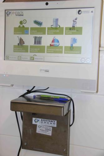 Le logiciel E-pack hygiène permet d'améliorer la traçabilité des produits.
