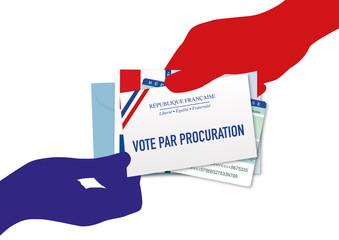 PROCURATION – Élections départementales et régionales 2021